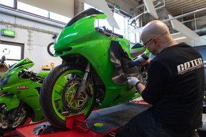 Cotec Kawasaki wrapping